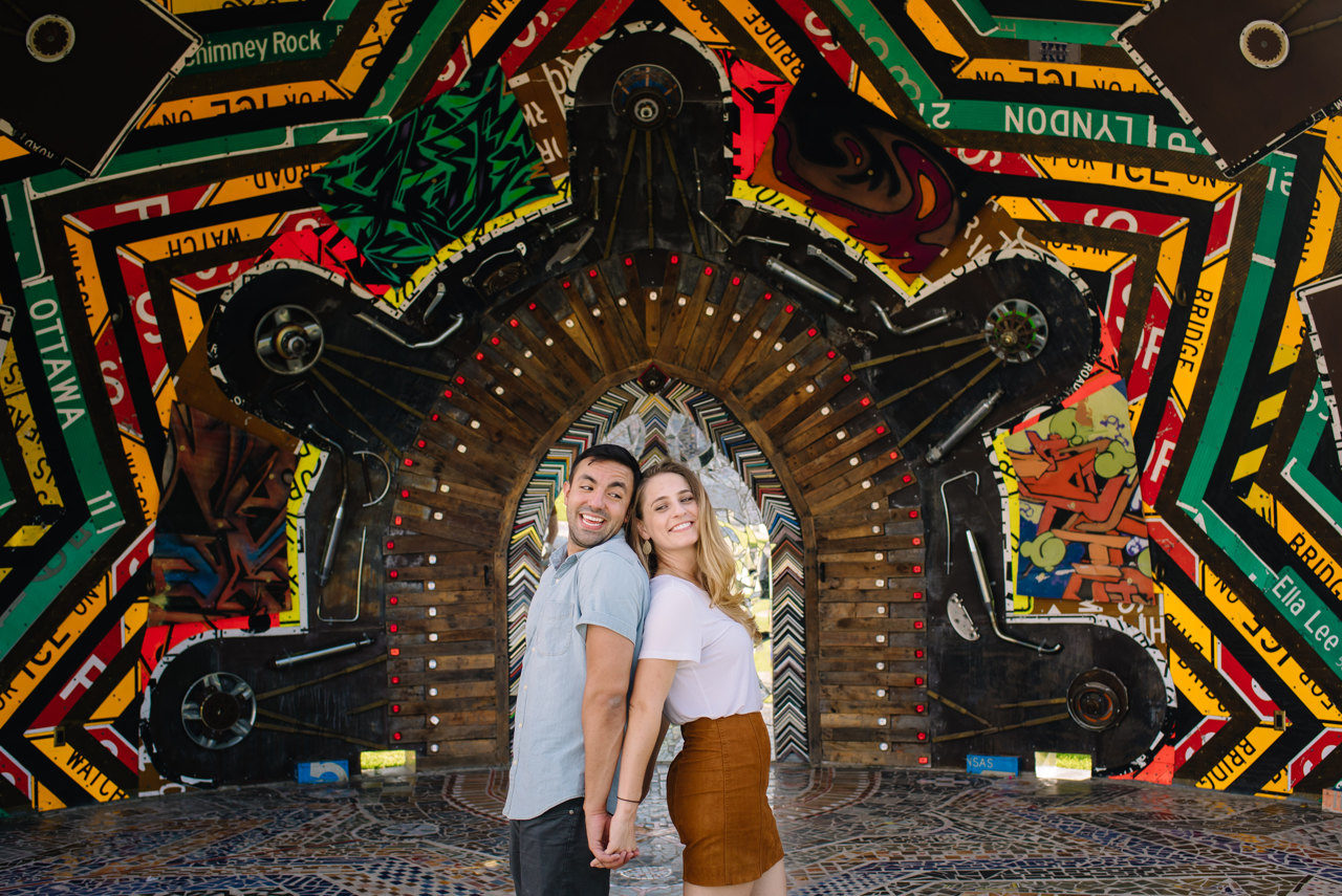 Mike & McKenzie - Engagement Session at The Orange Show
