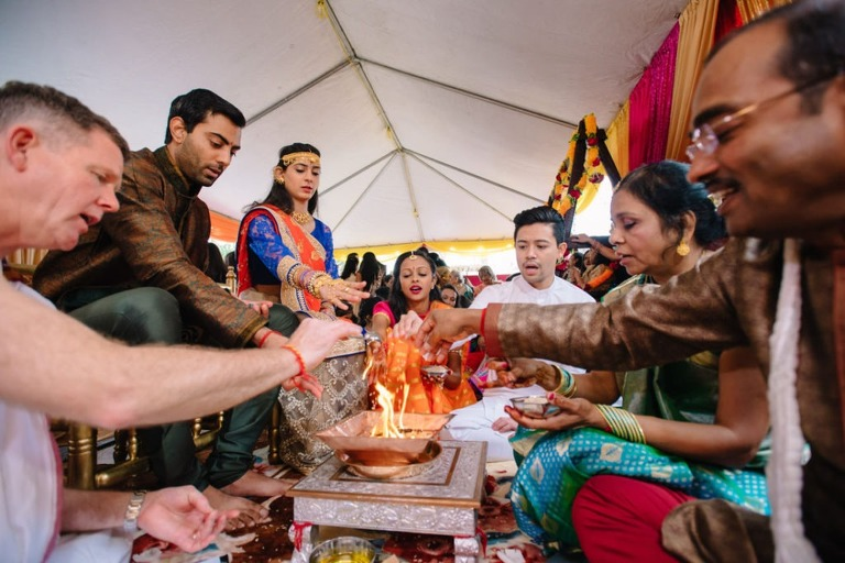 Houston indian wedding at Doubletree greenway plaza hotel